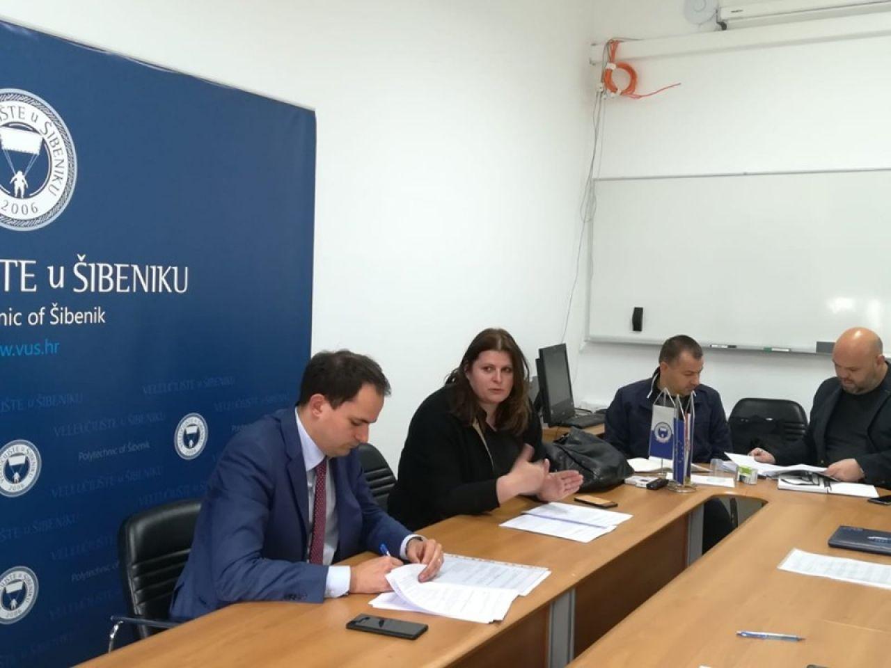 Potpisan ugovor za izvođenje radova na II. fazi nadogradnje zgrade Veleučilišta u Šibeniku