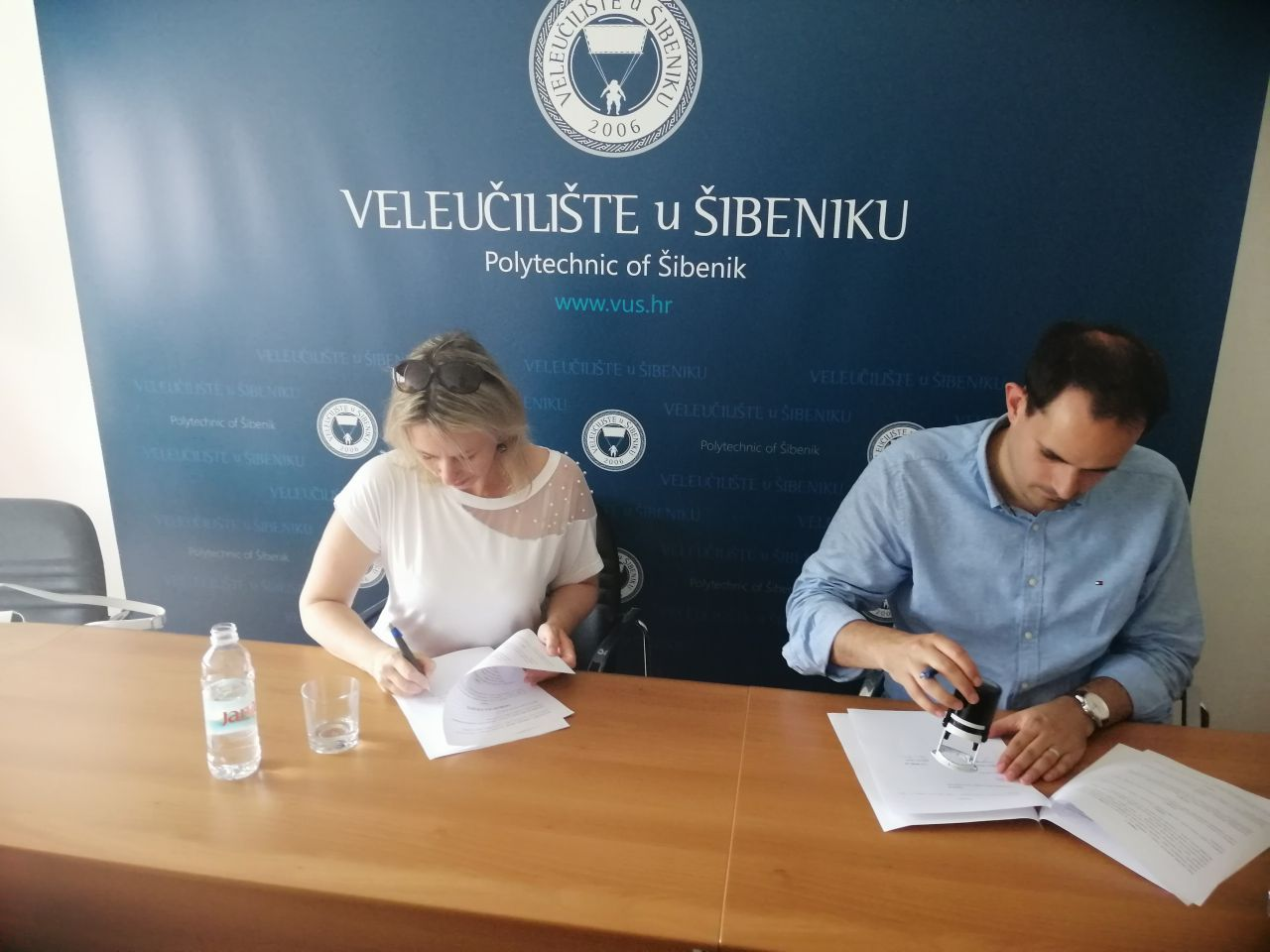 Veleučilište u Šibeniku i LAG More 249 potpisali Sporazum o suradnji