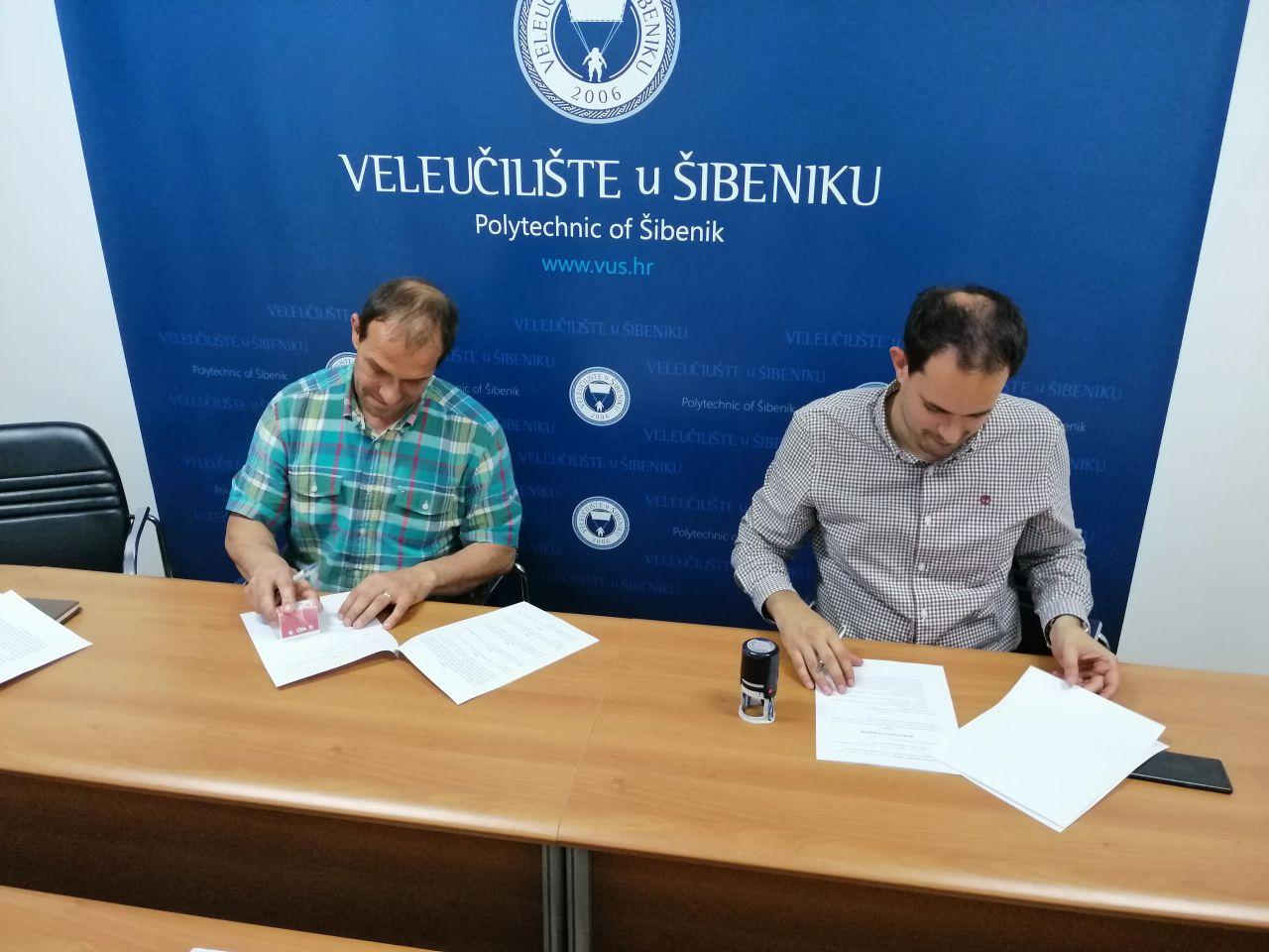 Veleučilište u Šibeniku i LAG Krka potpisali Sporazum o suradnji