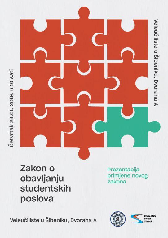 ZAKON O OBAVLJANJU STUDENTSKIH POSLOVA - prezentacija primjene novog zakona